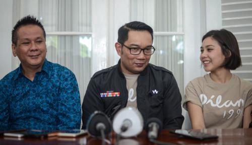 Foto Fans Dilan Siap-siap Berkunjung ya, Kang Emil Sudah Resmikan Pembangunan Sudut Dilan