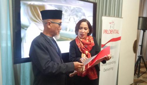 Foto Mantap, Prudential Indonesia Hadirkan Wakaf Hingga ke Medan!