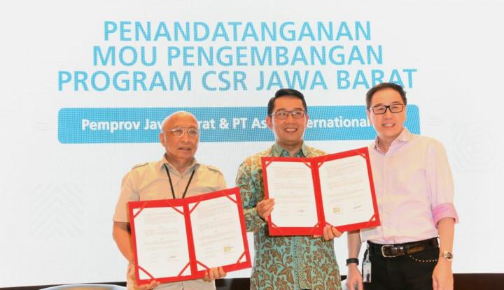 Bangun Jabar, Kang Emil Rangkul Perusahaan - Warta Ekonomi