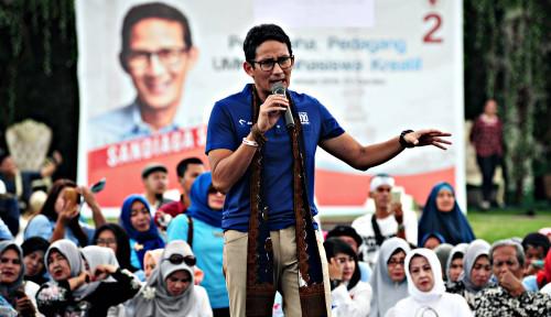 Foto Sandiaga: Ekonomi Indonesia Bakal Kuat, Jika Ditopang...