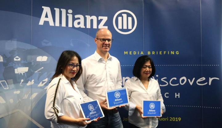 Pahami Kebutuhan Nasabah, Allianz Kenalkan Aplikasi Penjualan Digital - Warta Ekonomi