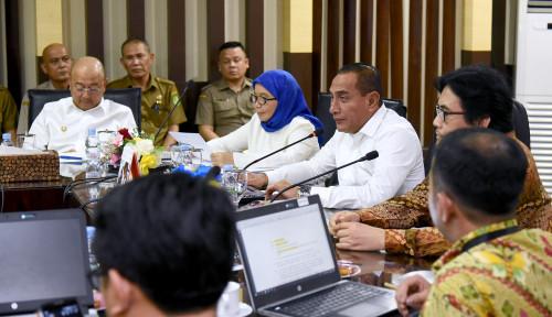 Foto Gubernur Edy: KPK Tidak Gila Jabatan, Kenapa Nih?