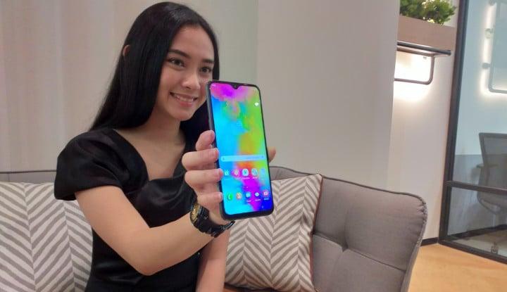 Resmi Meluncur di Indonesia, Ini Bedanya Galaxy M10 dengan Galaxy M20 - Warta Ekonomi