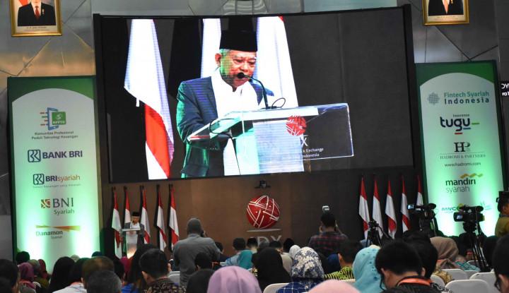 KH Ma'ruf Amin Sambangi Bursa Efek Indonesia, Ada Apa? - Warta Ekonomi