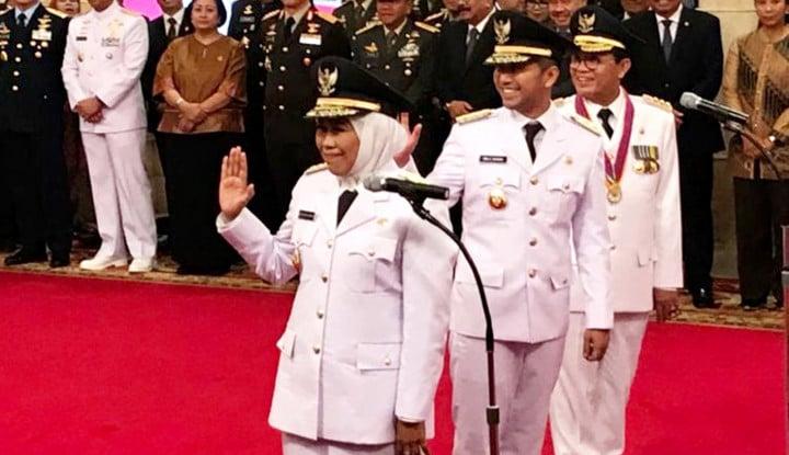 Khofifah Resmi Jabat Gubernur Jatim - Warta Ekonomi