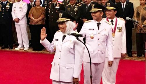 Foto Khofifah Resmi Jabat Gubernur Jatim