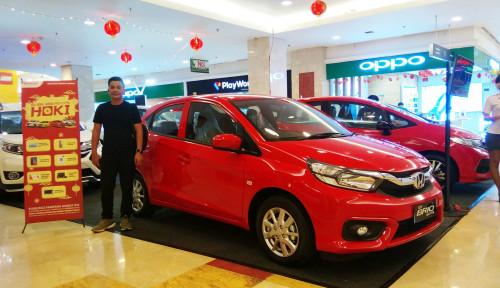 Foto Pikat Konsumen Medan, Honda Siapkan Angpao di Pameran Promo Hoki