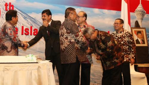 Foto Beredar Foto Ketua KPU Tengah Menunduk di Hadapan OSO, Formappi: Mestinya Jaga Wibawa