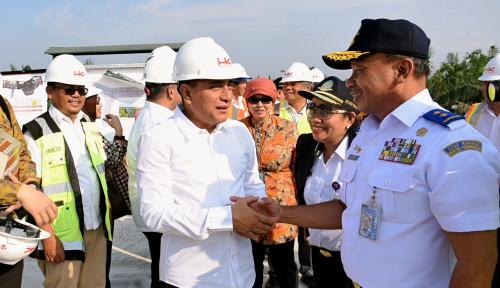 Foto Harapan Edy Saat Dampingi Menteri Darmin