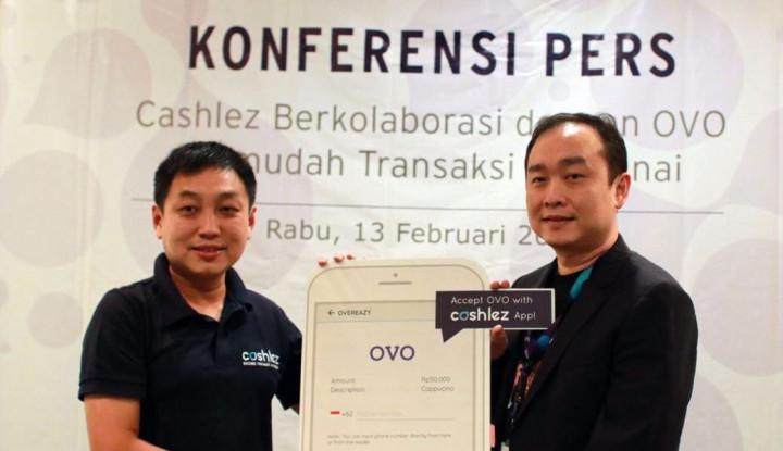 Foto Berita Gandeng OVO, Cashlez Permudah Transaksi Nontunai