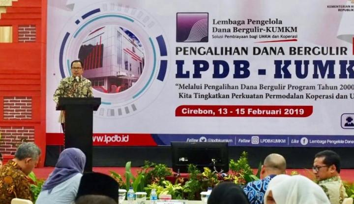 LPDB Targetkan Dana Pengalihan Rp20 Miliar Bisa Kembali - Warta Ekonomi