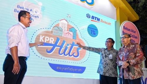 Foto Gaet Milenial, BTN Syariah Rilis KPR Hits, DP Mulai 1%