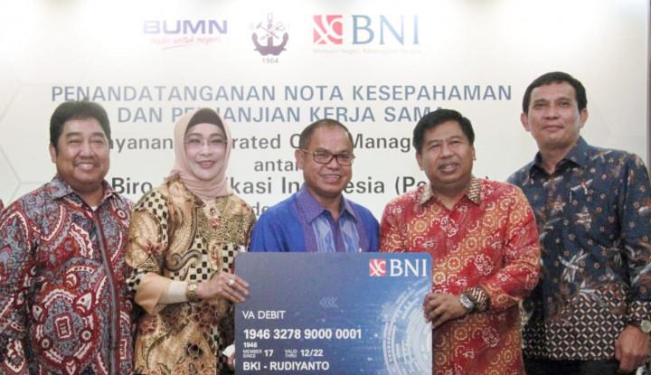 Sinergi BUMN, BNI Sediakan Integrated Cash Management Bagi BKI - Warta Ekonomi