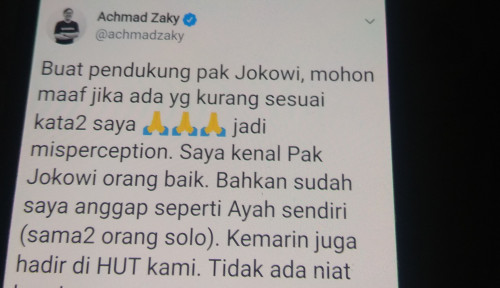 Foto Seolah-olah Bos Bukalapak Lupakan Jokowi