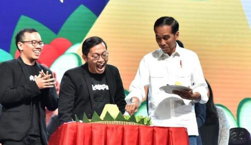 Foto Jokowi Bertemu CEO Bukalapak, yang Dibahas?