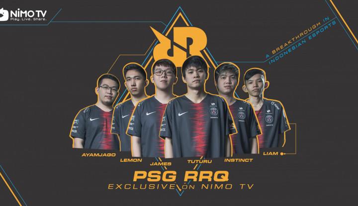 Nimo TV Umumkan Kerja Sama Strategis dengan RRQ Esports di Awal Tahun 2019 - Warta Ekonomi