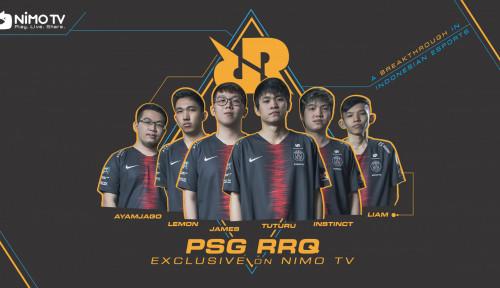 Foto Nimo TV Umumkan Kerja Sama Strategis dengan RRQ Esports di Awal Tahun 2019