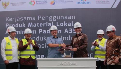 Tekan Impor, Inalum Pasok Aluminium untuk Industri Otomotif Nasional