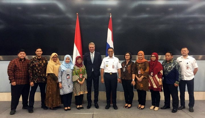 Soal Pengelolaan Air di DKI Jakarta, Anies Baswedan Kirimkan Staf ke Belanda - Warta Ekonomi