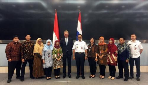 Foto Soal Pengelolaan Air di DKI Jakarta, Anies Baswedan Kirimkan Staf ke Belanda