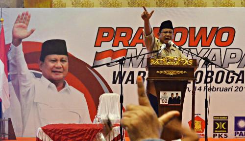Foto Prabowo Kembali Sindir Elite Jakarta, Siapa Dia?