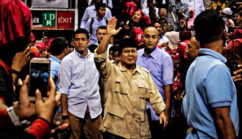 Foto Prabowo: Saya Melihat Aroma Kemenangan
