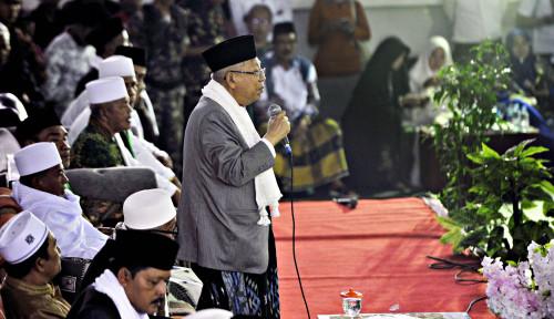 Foto Ma'ruf Tegaskan Ulang, Jokowi Bukan PKI