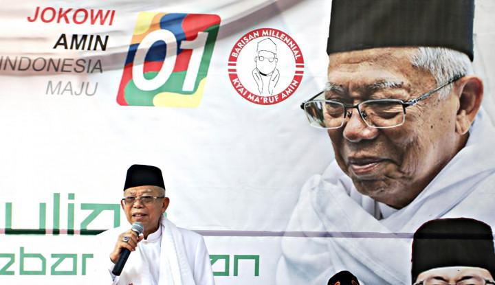 sidang mk: kubu 02 persoalkan lagi status ma'ruf amin di bni syariah, saham bni porak-poranda!