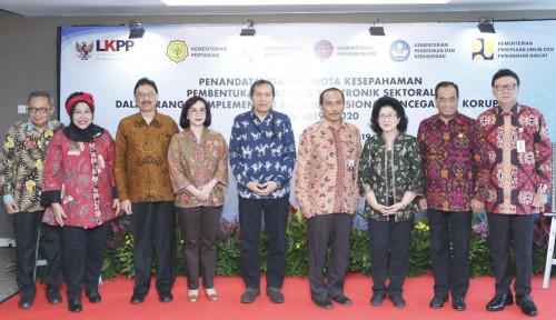Foto Cegah Korupsi, Kementan Teken MoU dengan LKPP