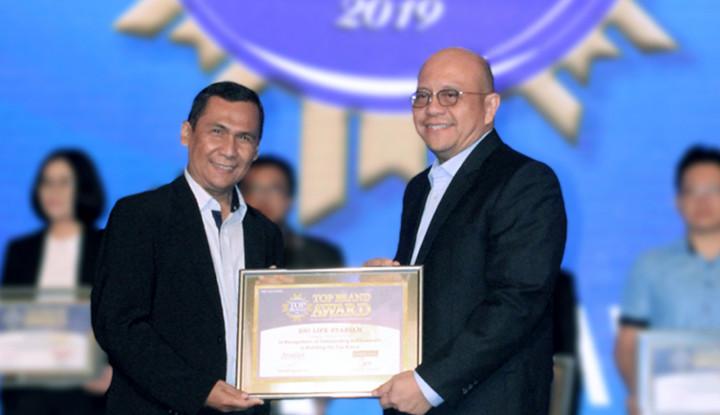 BNI Life Terima Penghargaan TOP Brand Award 2019 - Warta Ekonomi