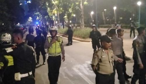 Foto Ledakan Diduga Bom di Sekitar Area Debat Capres