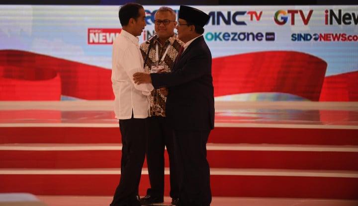 Debat Jokowi-Prabowo Paling Banyak Ditonton, Siapa Penontonnya?