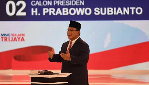Foto Kebanyakan Bilang Sepakat, Prabowo Bikin Debat Capres II Jadi Tak Menarik