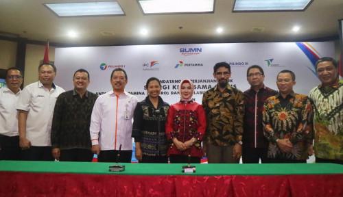 Foto Pertamina dan Empat Pelindo Kerja Sama Bisnis Strategis