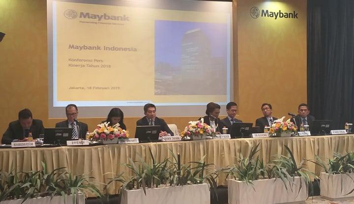Maybank Indonesia Bukukan Laba Bersih Rp2,2 Triliun di 2018 - Warta Ekonomi