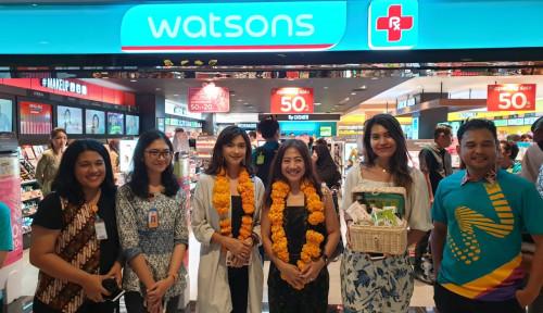 Foto Perkuat Pasar, Watsons Tambah Gerai di Bali