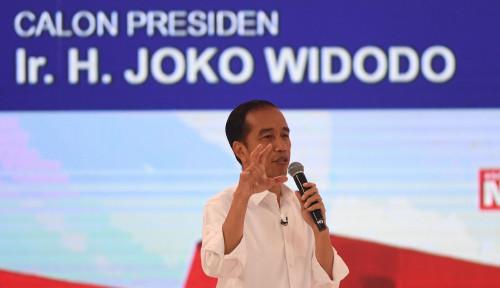 Foto Janji Baru Jokowi: Gaji Lulusan SMA dan Perguruan Tinggi yang Nganggur
