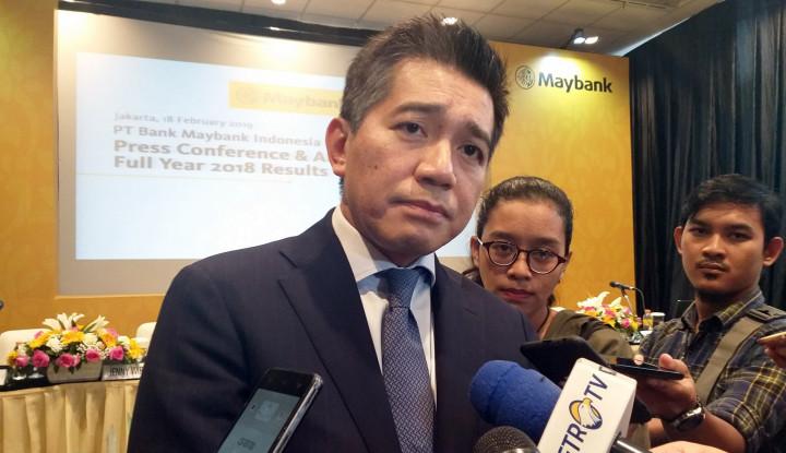 Maybank Indonesia Bidik Kredit Tumbuh 10% Tahun Ini - Warta Ekonomi