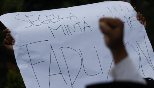 Foto Jika Tidak Minta Maaf, Dia Kita Polisikan, Fadli Zon?