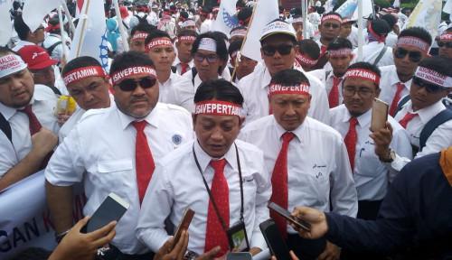 Foto Labeli Ahok Residivis, Pentolan SP Pertamina Terancam!