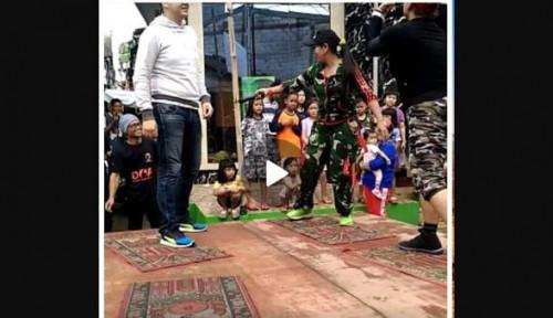 Foto Penistaan, Caleg PDIP Injak-Injak Sajadah Penistaan
