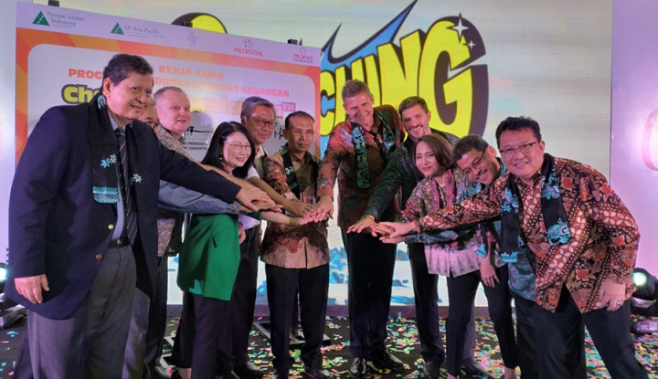 Prudential Bidik Kurikulum Cha-Ching Jangkau 92 Ribu Siswa Jakarta di 2020 - Warta Ekonomi