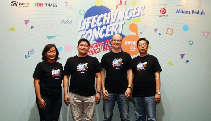 Konser Lifechanger Yayasan Allianz Peduli untuk Korban Bencana - Warta Ekonomi
