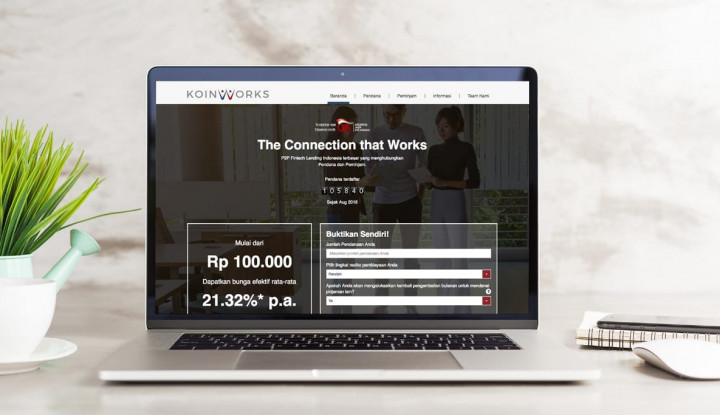 2019, KoinWorks Targetkan Penyaluran Pinjaman Rp2,3 Triliun - Warta Ekonomi