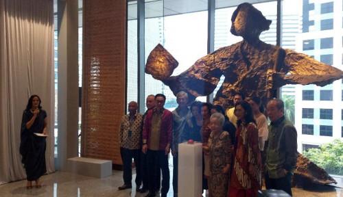 Foto Ultah Ke-62, Astra Resmikan Gedung Tertinggi di Jakarta