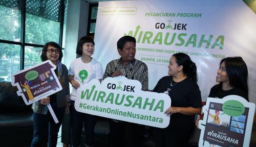 Foto Bantu Naikkelaskan UMKM, Go-Jek Luncurkan 'Go-Jek Wirausaha'