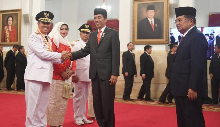 Baru Dilantik, Gubernur Riau Nyatakan Dukung Jokowi - Warta Ekonomi