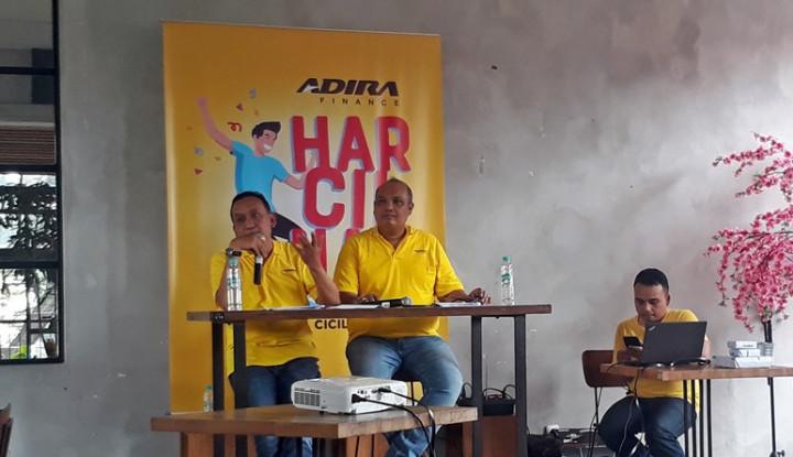 Harcilnas Adira Bidik 1.000 Nasabah Bandung - Warta Ekonomi