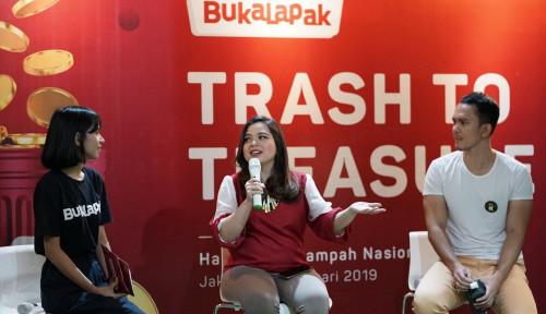 Foto Kurangi Sampah Rumah Tangga, Langkah Apa yang Dilakukan Bukalapak?