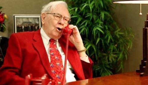 Berkelas! Hadiah Natal Warren Buffet Buat Keluarga Amat Berkelas...